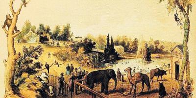 Verdwenen dierentuin van Brussel