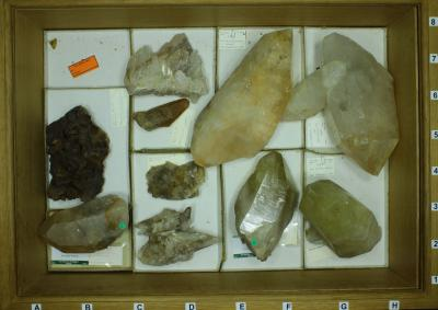 Collection of Belgian minerals