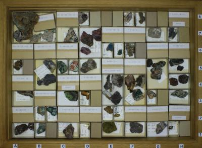 Mineral collection of Julien Drugman