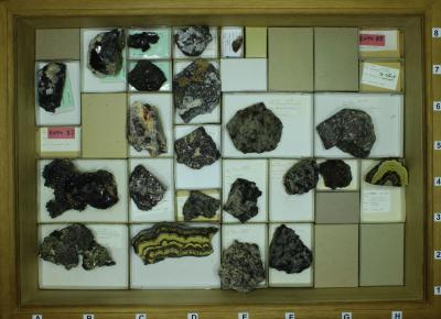 General collection of minerals