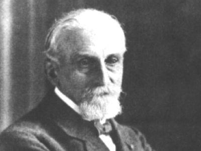 Portret de Gustave Gilson, explorateur de la mer du Nord et ancien directeur de l'Institut royal des Sciences naturelles de Belgique