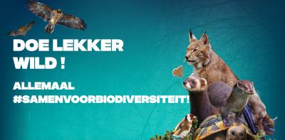 Campagnebeeld 'Doe Lekker Wild'