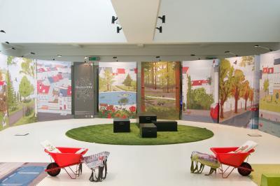 Une ville sans vie : décor dans lequel débute l'expo-atelier