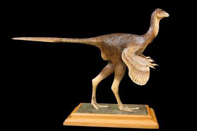 'Caudipteryx zoui' (Skulptur)