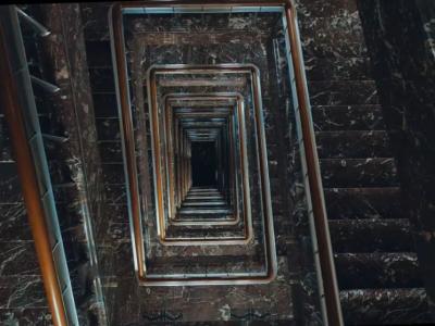 De trap van het KBIN (copyright: Diplodokus)