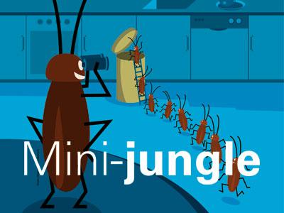 affiche Mini-jungle