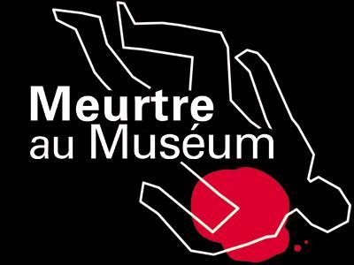 """Visuel de l'expo """"Meurtre au Muséum"""""""