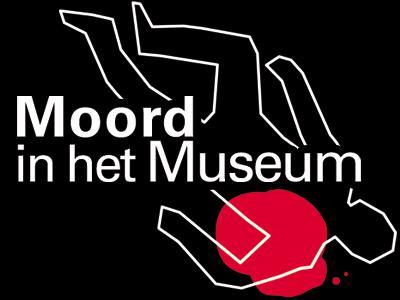 Visual van de tentoonstelling 'Moord in het Museum'