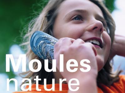 """Visuel de l'expo """"Moules nature"""""""