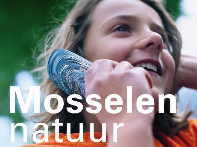 Visual van de tentoonstelling 'Mosselen natuur'