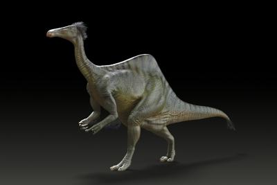 A reconstruction of the dinosaur Deinocheirus mirificus. (Photograph: Yuong-Nam Lee/KIGAM)
