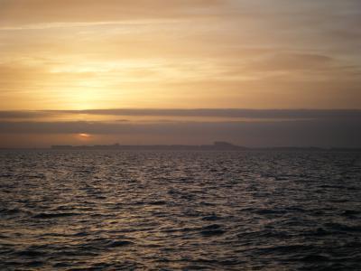 La mer du Nord.