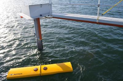 Installation de conversion de l'énergie des vagues (NEMOS)