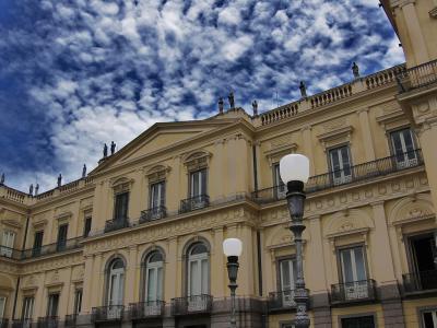 Museu Nacional, Rio de Janeiro, in better times. (By Paulo R C M Jr., from Wikimedia Commons)