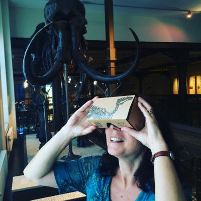 Visiting the museum virtually through the Google Arts and Culture platform.