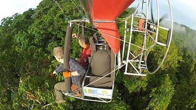 Canopée ballon