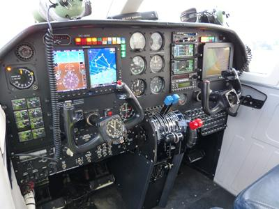 Instrumentation aircraft