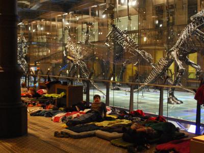 Halloween-nachtraven in het Museum: slaapkamer