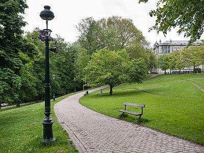 Leopoldpark (Foto: Thierry Hubin / KBIN)