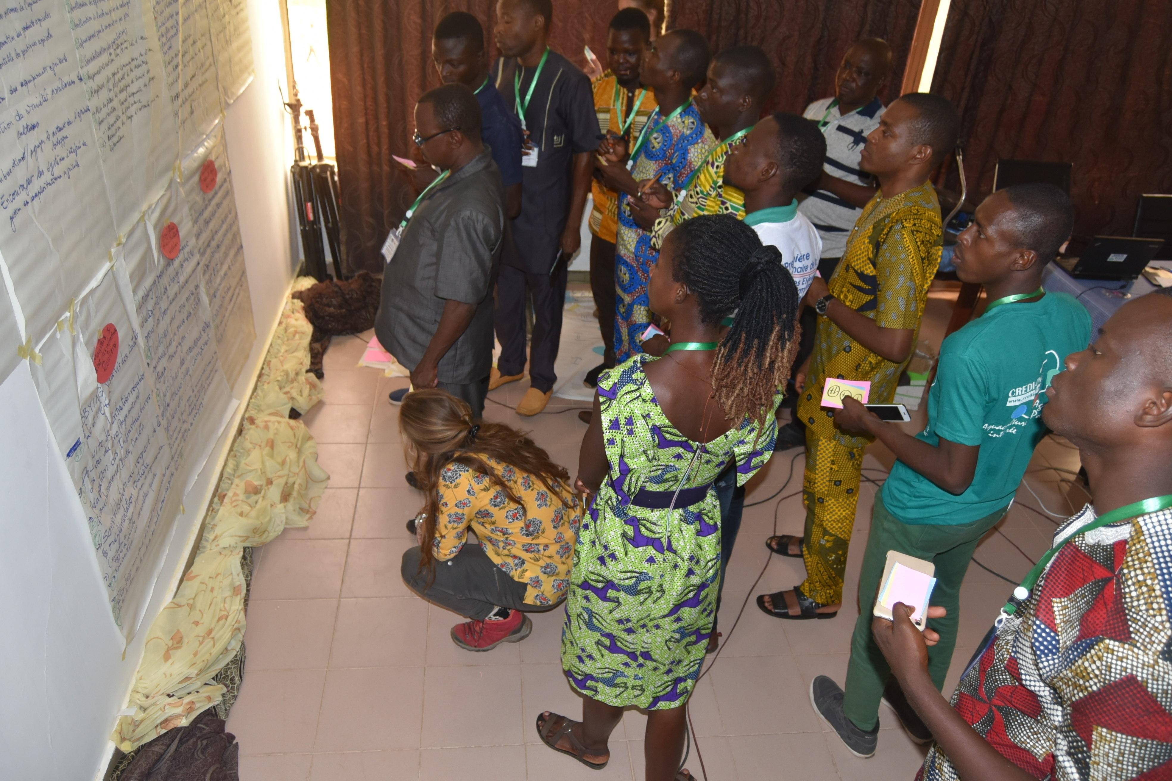 Stakeholders Workshop, Pendjari NP, Benin. Picture: Luc Janssens de Bisthoven