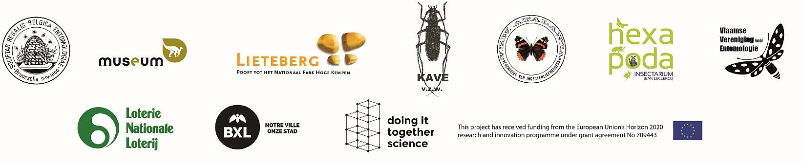 logos Insectenweek/Semaine des Insectes 2019