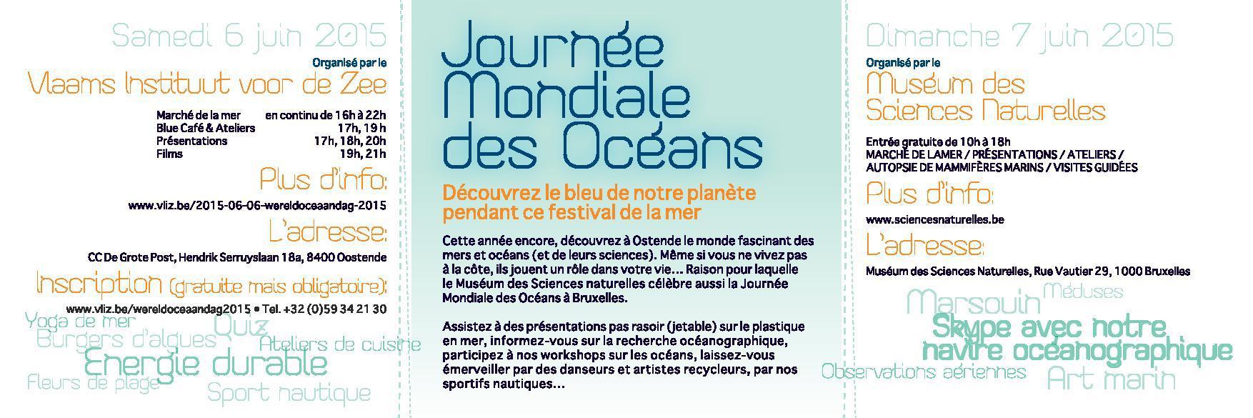 Journée Mondiale des Océans 2015 b