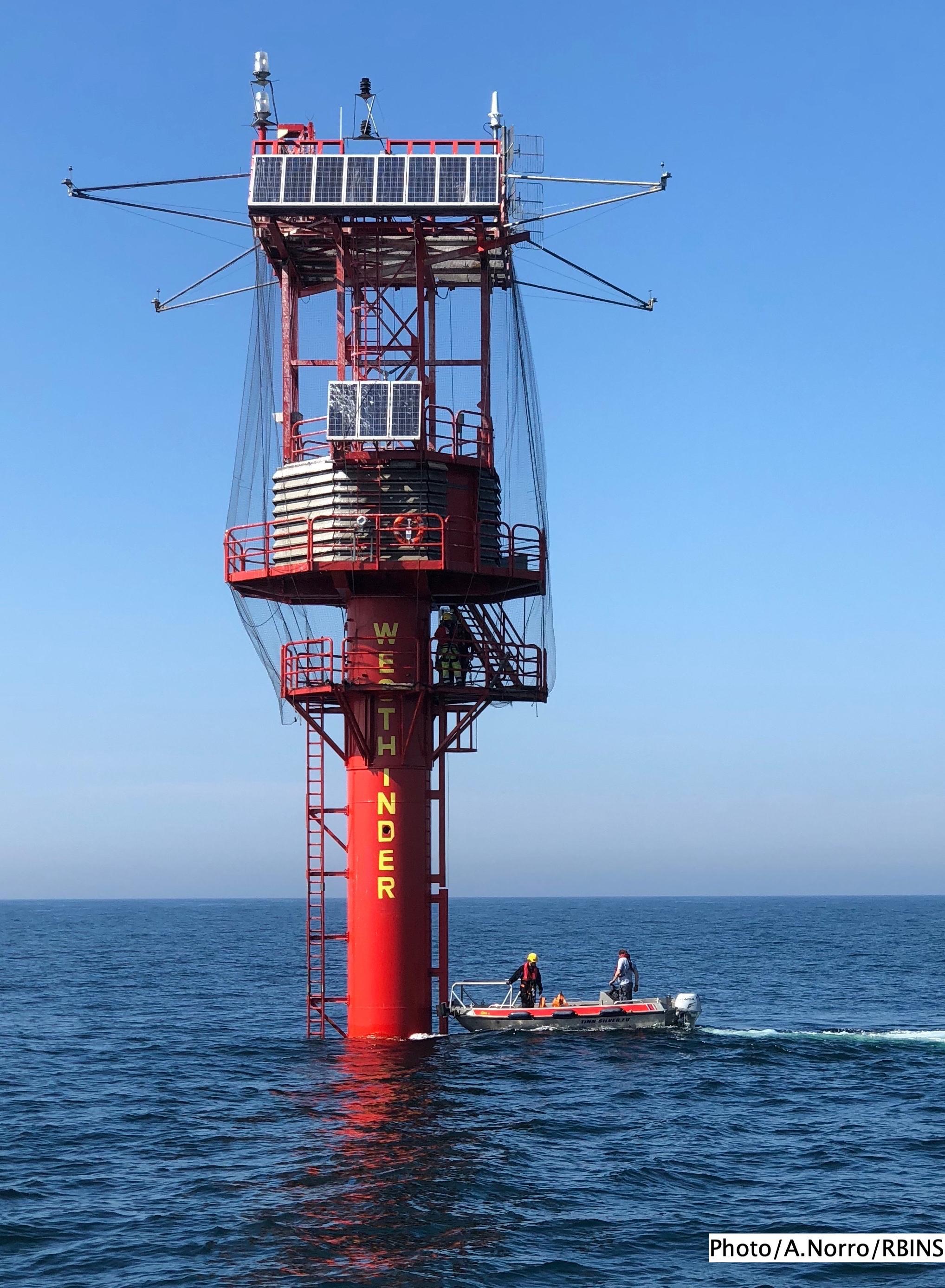 Documenting Underwater Sound in the Belgian North Sea
