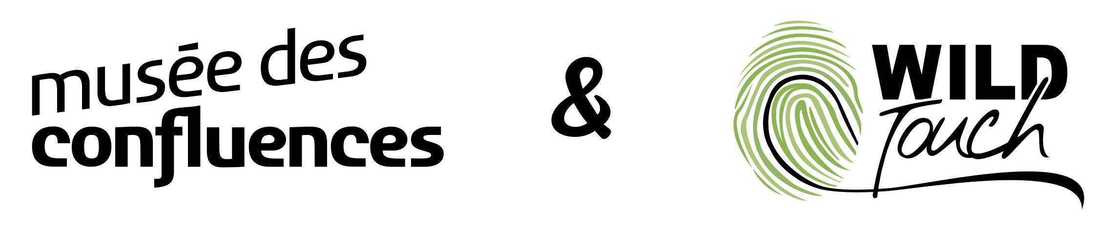 logos Musée des Confluences & Wild-Touch