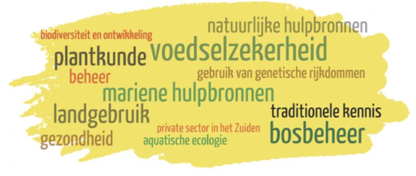 """Thema's van de dag """"Biodiversiteit en ontwikkeling: erfgoed op wereldschaal"""" op 26.11.2015"""