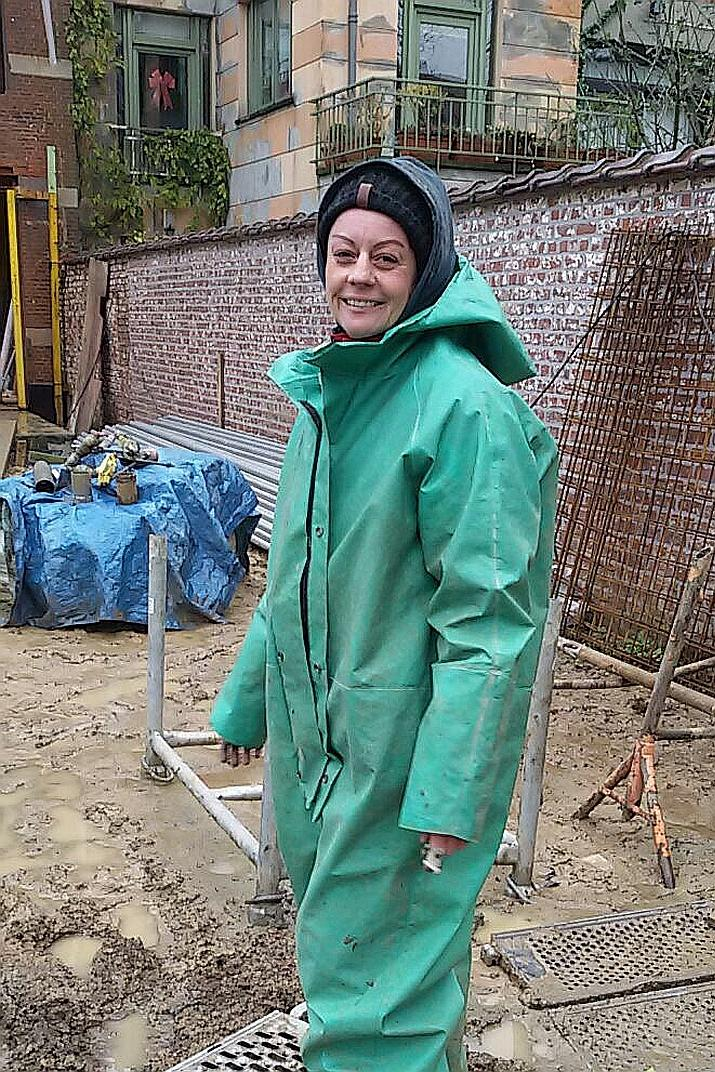 Estelle Petitclerc, spécialiste de la géothermie à l'IRSNB