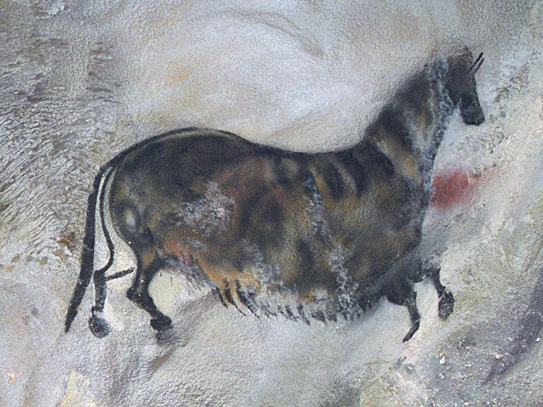 prehistorie: muurschildering