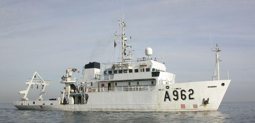 Research vessel Belgica