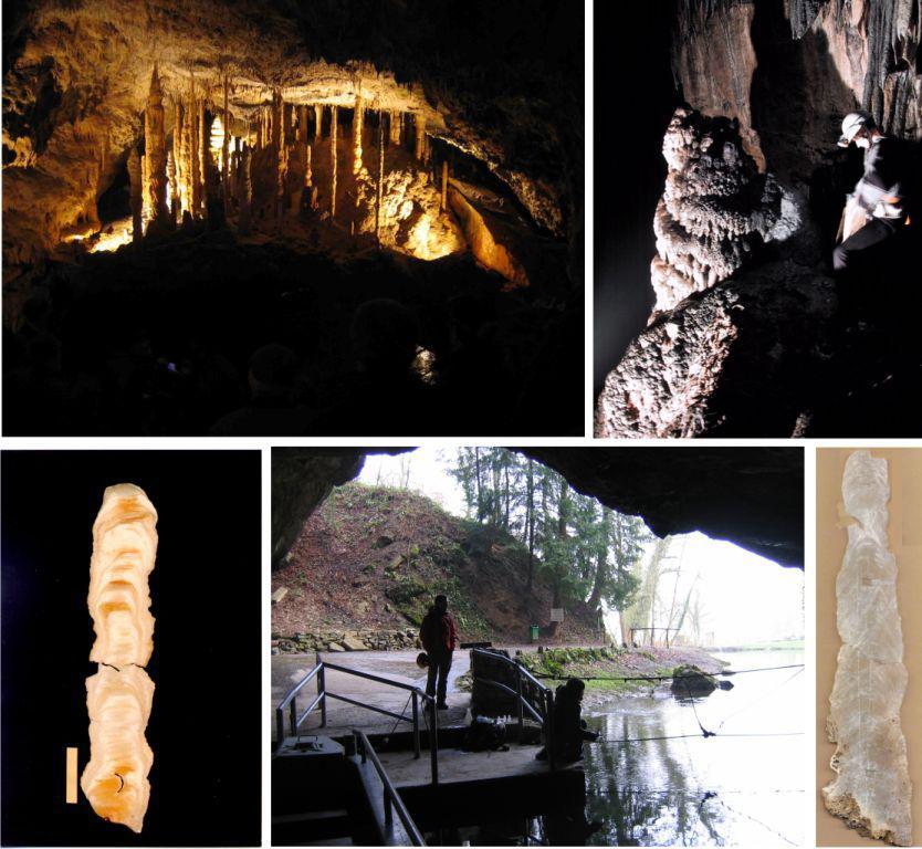 Les spéléothèmes calcitiques, stalagmites, stalactites etc…, offrent une opportunité unique de datation absolue au travers de la chaine de désintégration de l'uranium