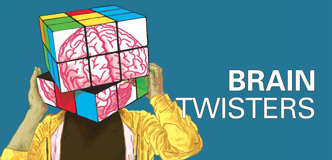 Visual of the exhibition 'Brain Twisters'