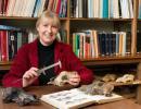 Paleontoloog Mietje Germonpré (Foto: Thierry Hubin, KBIN)