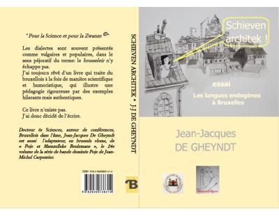 """couverture du livre """"Schieven architek! Les langues endogènes à Bruxelles"""" de Jean-Jacques De Gheyndt"""