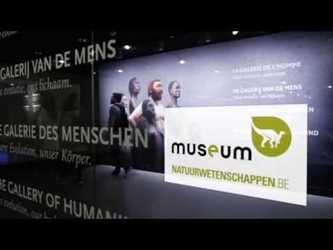 Galerij van de Mens - Onze evolutie, ons lichaam (tv-spot)