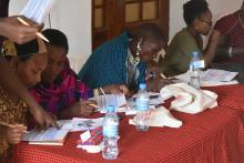 Lake Manyara Workshop met alle betrokken partijen © KBIN/CEBioS