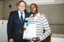 Robert Runya et son VLIZ Poster Award