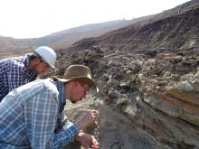Excavations in the Tadkeshwar mine in western India (Photo: Annelise Folie, RBINS)
