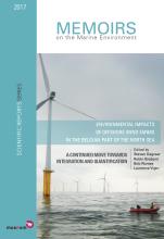 La couverture du nouveau rapport de suivi (Image IRSNB)