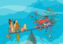 Samen voor biodiversiteit / Ensemble pour la biodiversité logo
