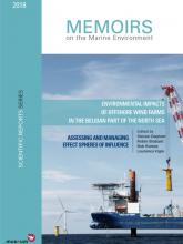 Cover of the new wind park report (Image : RBINS)