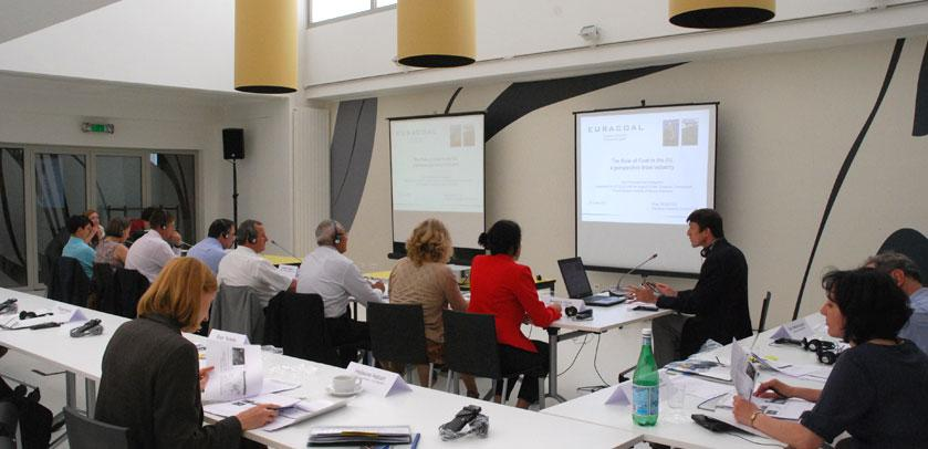 Workshop in der VIP-Raum