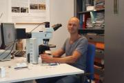 Archaeobotanist Koen Deforce. (Photo: RBINS)