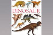 Dinosaur sticker book