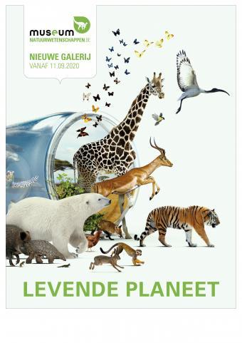 Affiche Levende Planeet
